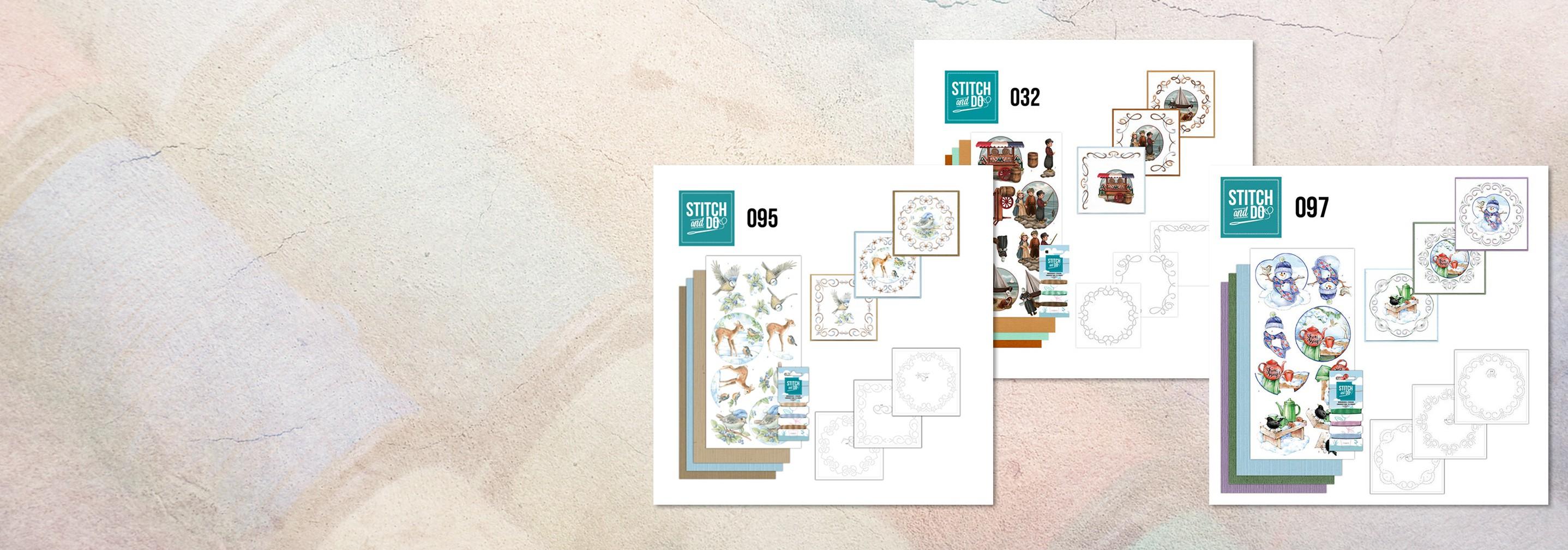 De mooiste geborduurde 3d-kaarten maak je zelf
